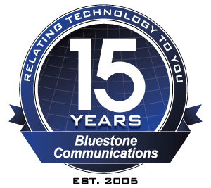 Bluestone 15th Anniversary logo