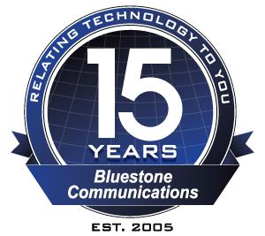 Bluestone 15th Anniversary logo