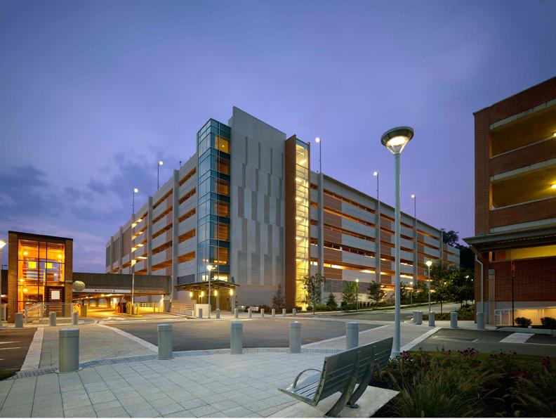 Lankenau Medical Center Parking Garage Bluestone